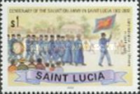 [The 100th Anniversary of Salvation Army on St. Lucia, Typ AJT]