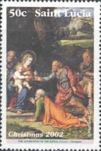[Christmas - Religious Paintings from The National Gallery, London, Typ AJW]