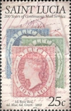 [The 200th Anniversary of Continuous Mail Service, Typ AKC]