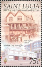 [The 200th Anniversary of Continuous Mail Service, Typ AKE]