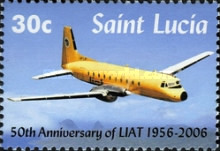 [The 50th Anniversary of LIAT Limited 1956-2006, Typ AMQ]