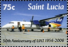 [The 50th Anniversary of LIAT Limited 1956-2006, Typ AMR]