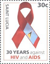 [The 30th Anniversary of the Struggle Against AIDS, Typ AOG]