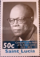 [The 100th Anniversary of the Birth of Sir Arthur Lewis, 1915-1991, Typ APB]