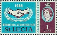 [The 20th Anniversary of United Nations Organization, Typ BL]