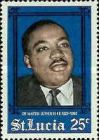 [Martin Luther King Commemoration, 1929-1968, Typ BY]