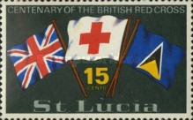 [The 100th Anniversary of British Red Cross, Typ DD]