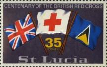 [The 100th Anniversary of British Red Cross, Typ DD1]