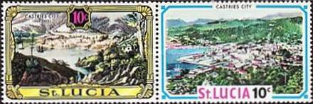 [Old and New Views of St. Lucia, Typ DM]