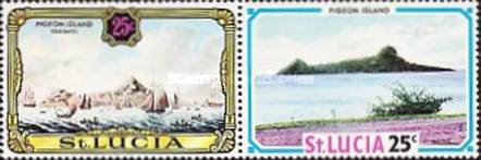 [Old and New Views of St. Lucia, Typ DO]