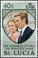 [Royal Wedding of Princess Anne and Mark Phillips, Typ EY]
