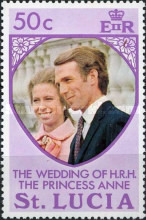 [Royal Wedding of Princess Anne and Mark Phillips, Typ EY1]
