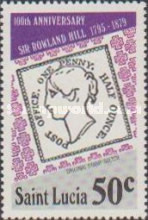 [The 100th Anniversary of the Death of Sir Rowland Hill, 1795-1879, Typ JQ]