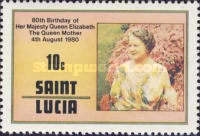 [The 80th Anniversary of the Birth of Queen Elizabeth the Queen Mother, 1900-2002, Typ KV]