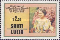 [The 80th Anniversary of the Birth of Queen Elizabeth the Queen Mother, 1900-2002, Typ KV1]