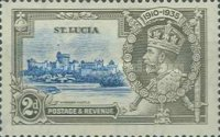 [The 25th Anniversary of the Reign of King George V, Typ N1]