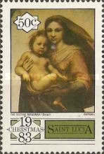 [Christmas - The 500th Anniversary of the Birth of Raphael, 1483-1520, Typ PR]