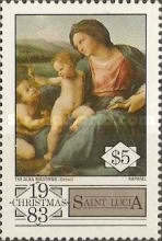 [Christmas - The 500th Anniversary of the Birth of Raphael, 1483-1520, Typ PS]