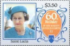 [The 60th Anniversary of the Birth of Queen Elizabeth II, Typ WW]