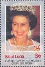 [The 60th Anniversary of the Birth of Queen Elizabeth II, Typ WX]