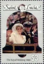 [Royal Wedding of Prince Andrew and Miss Sarah Ferguson, Typ XS]