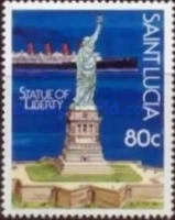 [The 100th Anniversary of Statue of Liberty 1986, Typ YW]