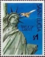 [The 100th Anniversary of Statue of Liberty 1986, Typ YX]