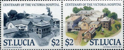 [The 100th Anniversary of Victoria Hospital, Castries, Typ ZH]
