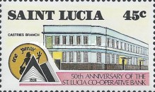 [The 50th Anniversary of St. Lucia Co-operative Bank, Typ ZX]