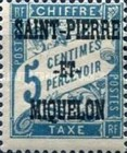 [France Postage Due Stamps Overprinted