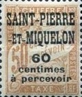 [Not Issued France Postage Due Stamps Overprinted