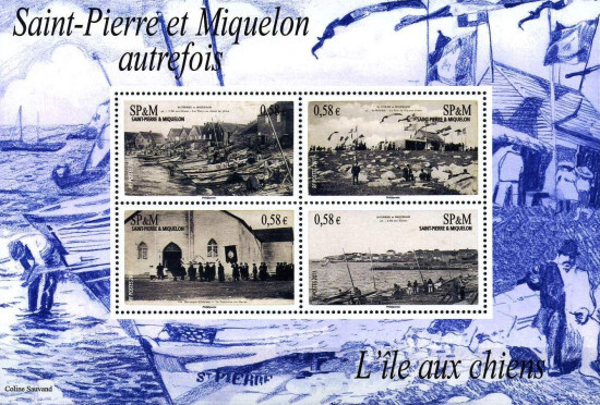 [Historic Views of St. Pierre et Miquelon, Typ ]