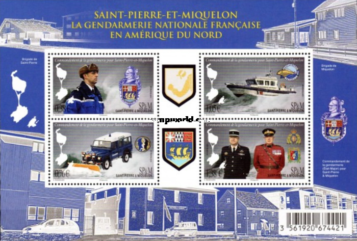 [The French National Gendarmerie in North America, Typ ]