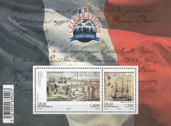 [The 200th Anniversary of the Islands' Return to French Sovereignty, Typ ]