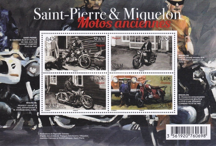 [Vintage Motorcycles of St. Pierre et Miquelin, Typ ]