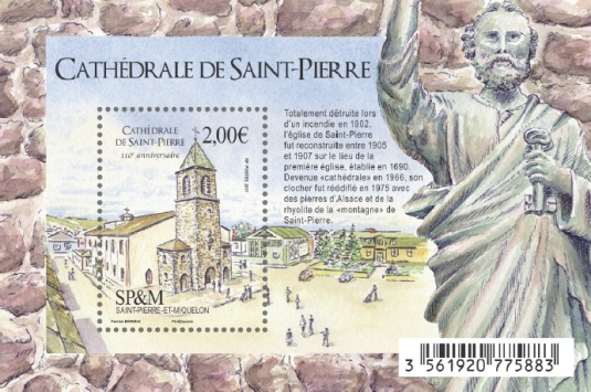[The 110th Anniversary of the St. Pierre Cathedral, Typ ]