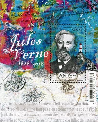 [The 200th Anniversary of the Birth of Jules Verne, 1818-1905, Typ ]