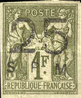 [French Colonies - General Issues Stamps Surcharged & Overprinted