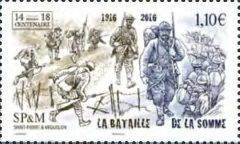 [The 100th Anniversary of the Battle of the Somme, Typ AEI]
