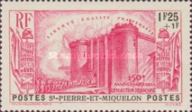 [The 150th Anniversary of French Revolution, Typ AP3]
