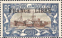 [Free French Plebiscite - Issues of 1922-1933 Overprinted