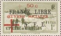 [Social Welfare Fund - Issues of 1941 further Overprinted