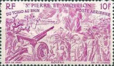 [Airmail - From Chad to the Rhine, type BN]