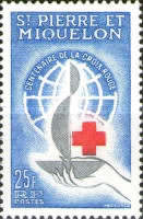 [The 100th Anniversary of International Red Cross, type DD]