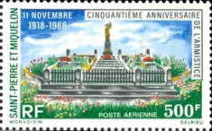 [Airmail - The 50th Anniversary of Armistice, Typ EE]