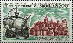 [Airmail - Maritime Links with France, type EO]