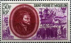 [Airmail - Celebrities of St. Pierre and Miquelo, type FI]