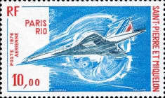 [Airmail - Concorde's 1st Commercial Flight, Typ HH]