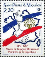 [Visit of President Francois Mitterand, Typ HY]