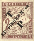 [French Colonies Postage Due Stamps Overprinted